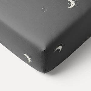 90x40_moon_star_printed_charcoal_grey_fitted_sheet_petite_amelie