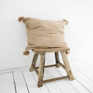 Berber Pillow Cover Nursery Room Decor in Brown from Petite Amélie