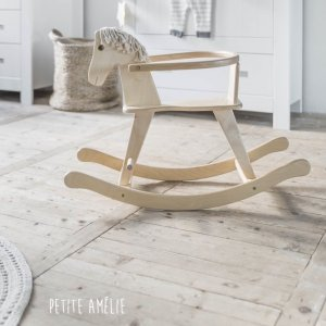 Wooden Rocking Horse | Natural