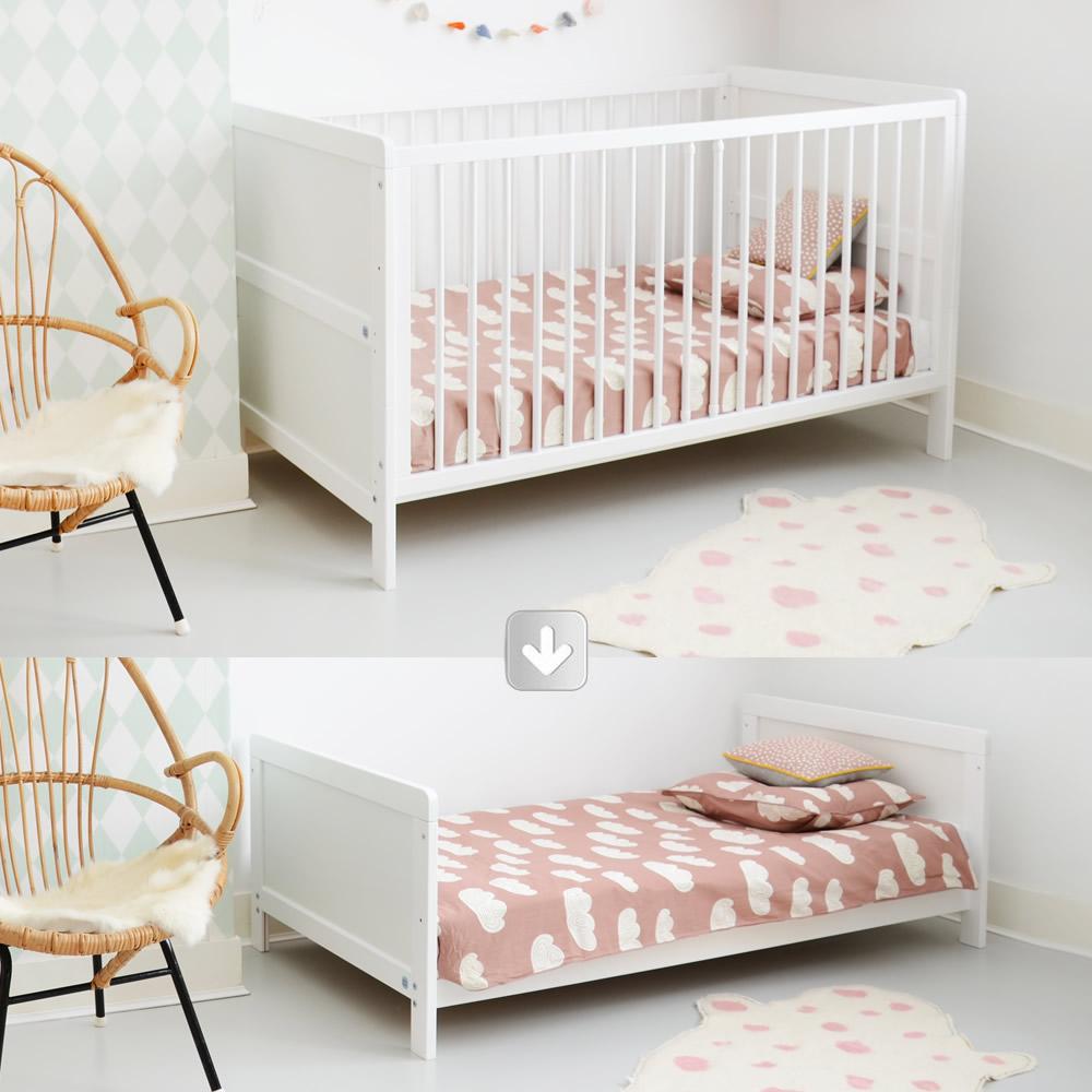 etape ii lit b b fond bas 10 24 mois. Black Bedroom Furniture Sets. Home Design Ideas