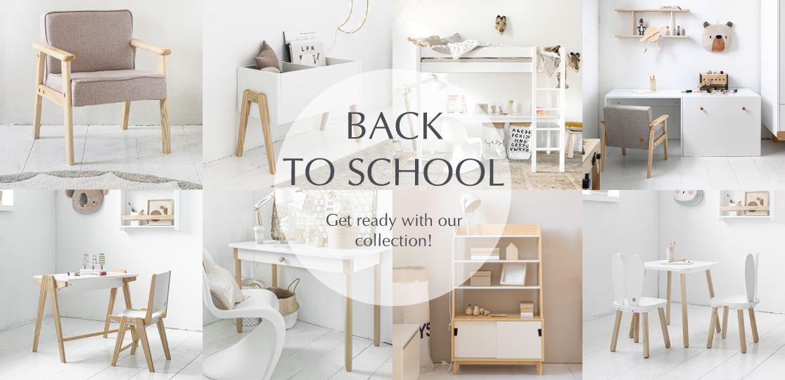 get organized with the back to school collection of Petite Amélie