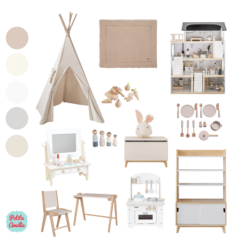 Moodboard - Create your dream play room
