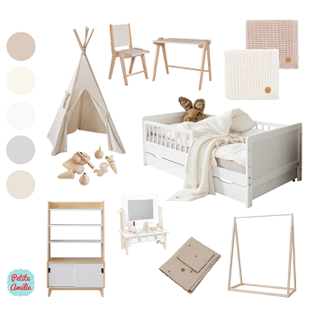 Moodboard - Create your own kids room