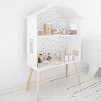 Multi-Functional Dolls House and Bookshelf